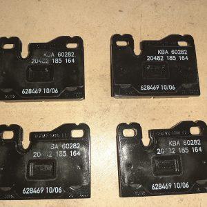 Brake Pad Set Textar 20482 Porsche 924 & Porsche 944 & Porsche 928