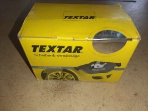 Textar 2048102 Brake Pad Set Front Porsche 924 - Porsche 944 - Porsche 928