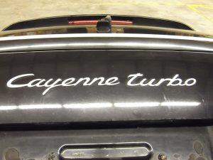 7L5.827.119 Rear Trunk Lid Porsche Cayenne 955 Turbo