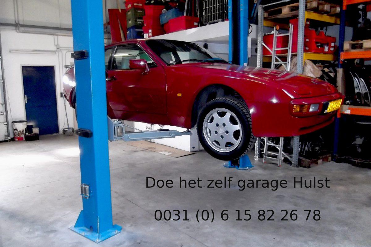 Doe het zelf garage Hulst