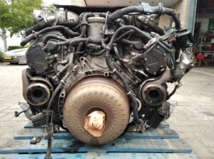 Motor - Engine V10 TDI Motor code AJS. 07Z 103 021 D & 07Z 109 211 B. VW Phaeton