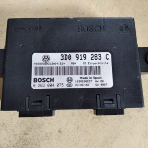 3D0 919 283 C & 0 263 004 075 Parking Assistance Module ECU VW Phaeton