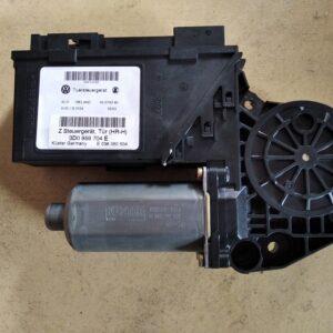 3D1 959 704 E Raam motor Rechts Achter VW Phaeton