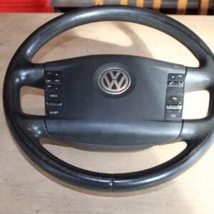 stuur met airbag - steering wheel VW Touareg 2004