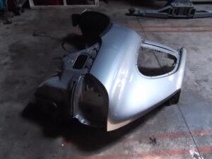Rear fender left Porsche Cayenne 955 Turbo