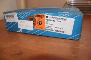 986.352.401.04 Brake Disc Sebro Porsche Boxster 986