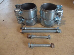 97.330 Mounting kit for rear exhaust Porsche 997