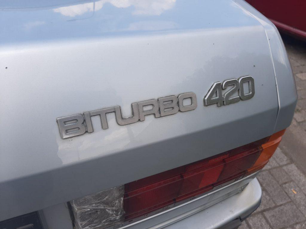 Maserati Biturbo 420