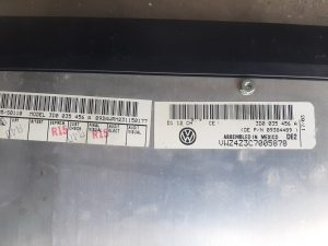 3D0 035 456 A Amplifier AMP VW Phaeton