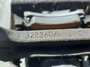 328341/4 & 328340/4 Rear Brake Caliper Set VW Phaeton & Bentley Continental