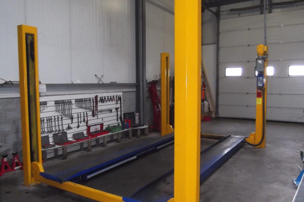 4 kolombrug inclusief basis gereedschap Doe het zelf garage Hulst