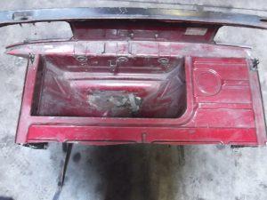 Achterkant - Rear body part Porsche 944
