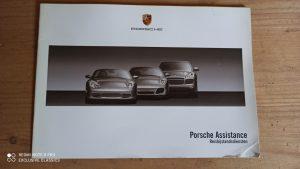 Opbergmapje-instructieboekjes-Handleidingen-Porsche-Cayenne