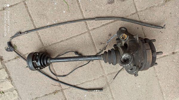 Wheel hub with drive shaft 928.331.220.5R & 928.812.531.01.