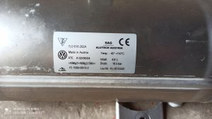 Air reservoir 7L0616202A