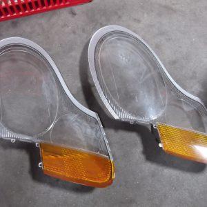 Koplamp glas - Headlight glass Porsche Boxster 986